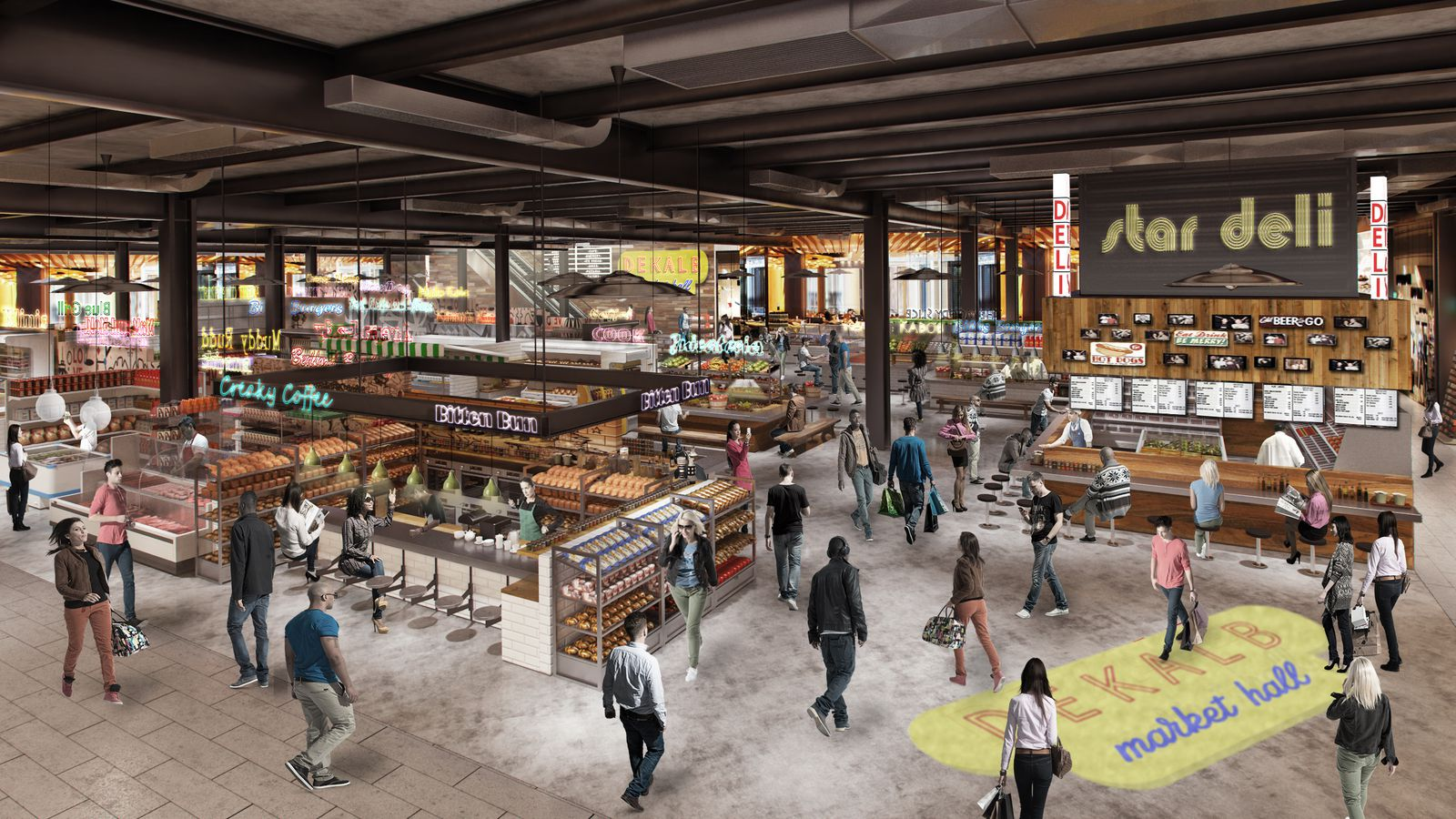 Atlanta Food Hall Market