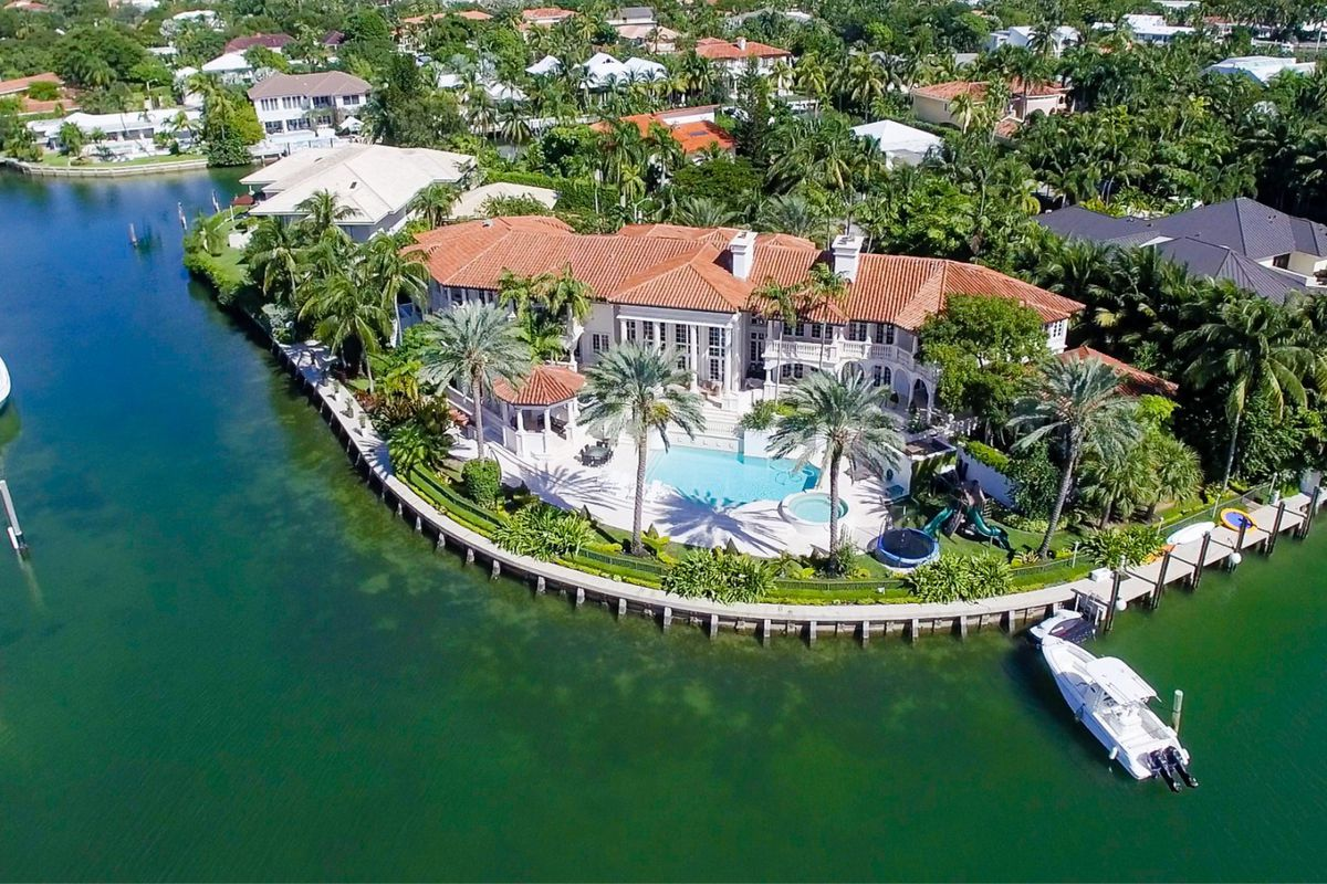 Key Biscayne Mansion Asking 14m Is One Of The Largest