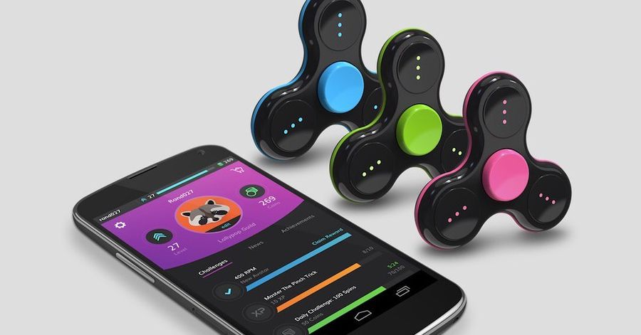 Company launches Bluetooth fidget spinner for gaming to keep the trend alive