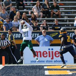 It looked good to me.  It turns out that Antoine Porter had a tow on the back goal line.<br>