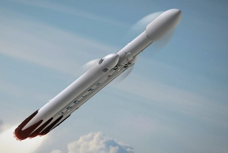 Incredible video shows how Space X plans to land largest rocket in the world