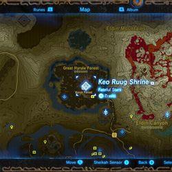 Zelda Breath Of The Wild Guide Keo Ruug Shrine Polygon