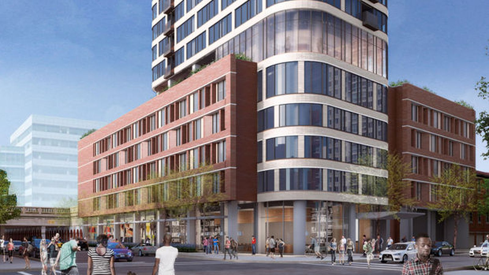 27 Story Apartment Proposal Looks To Make Its Mark On Hyde Park Curbed Chicago