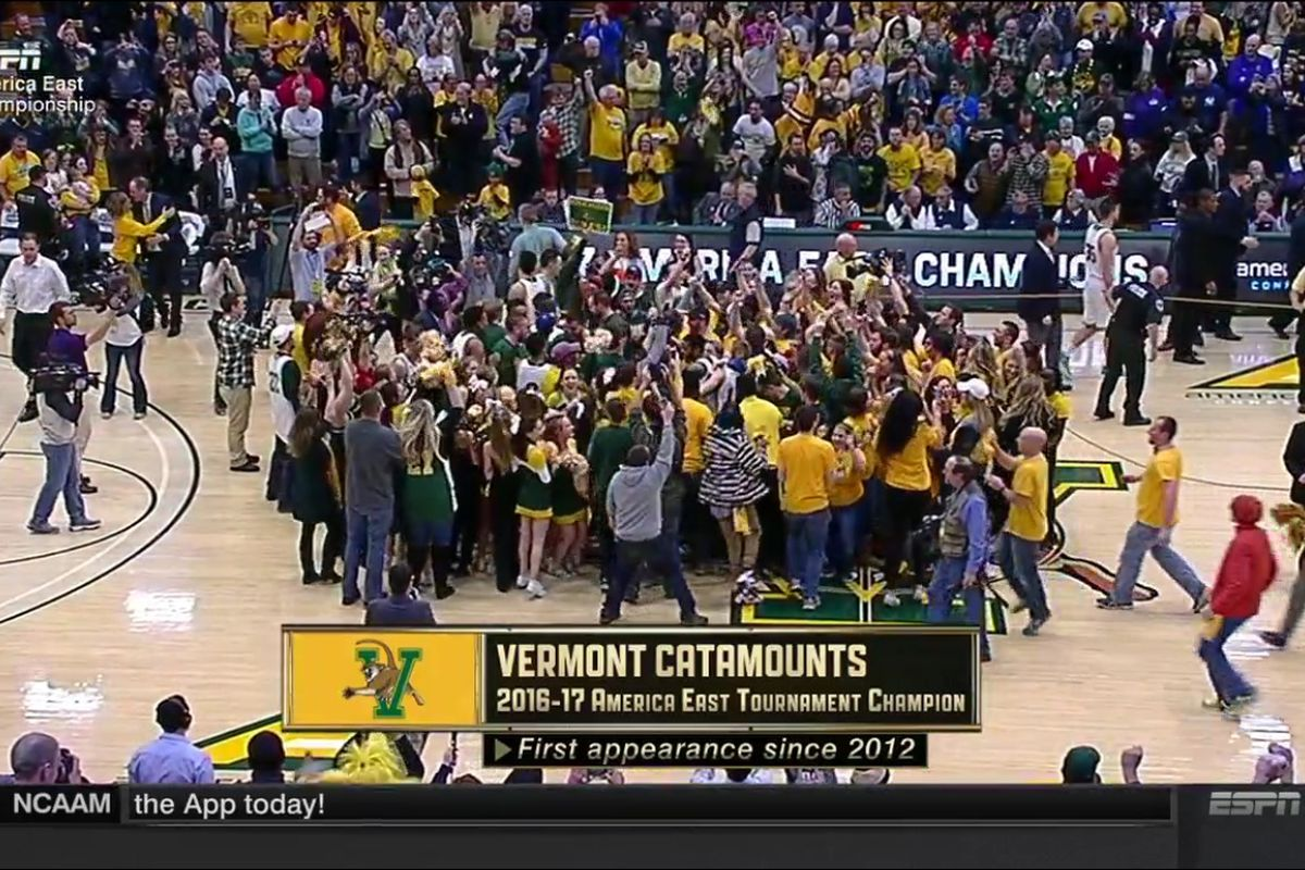 UVM wins America East championship, headed to NCAA tournament