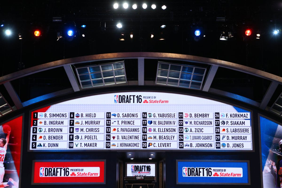 NBA Draft Lottery 2017