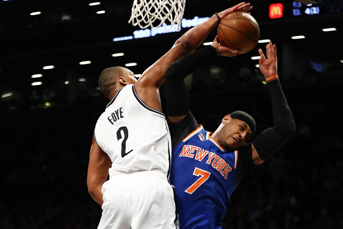 Knicks' Kyle O'Quinn: Nets 'Shouldn't Be in the gym With Us'