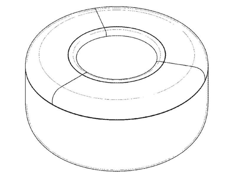 Apple's design for a planter was recently awarded a U.S. patent