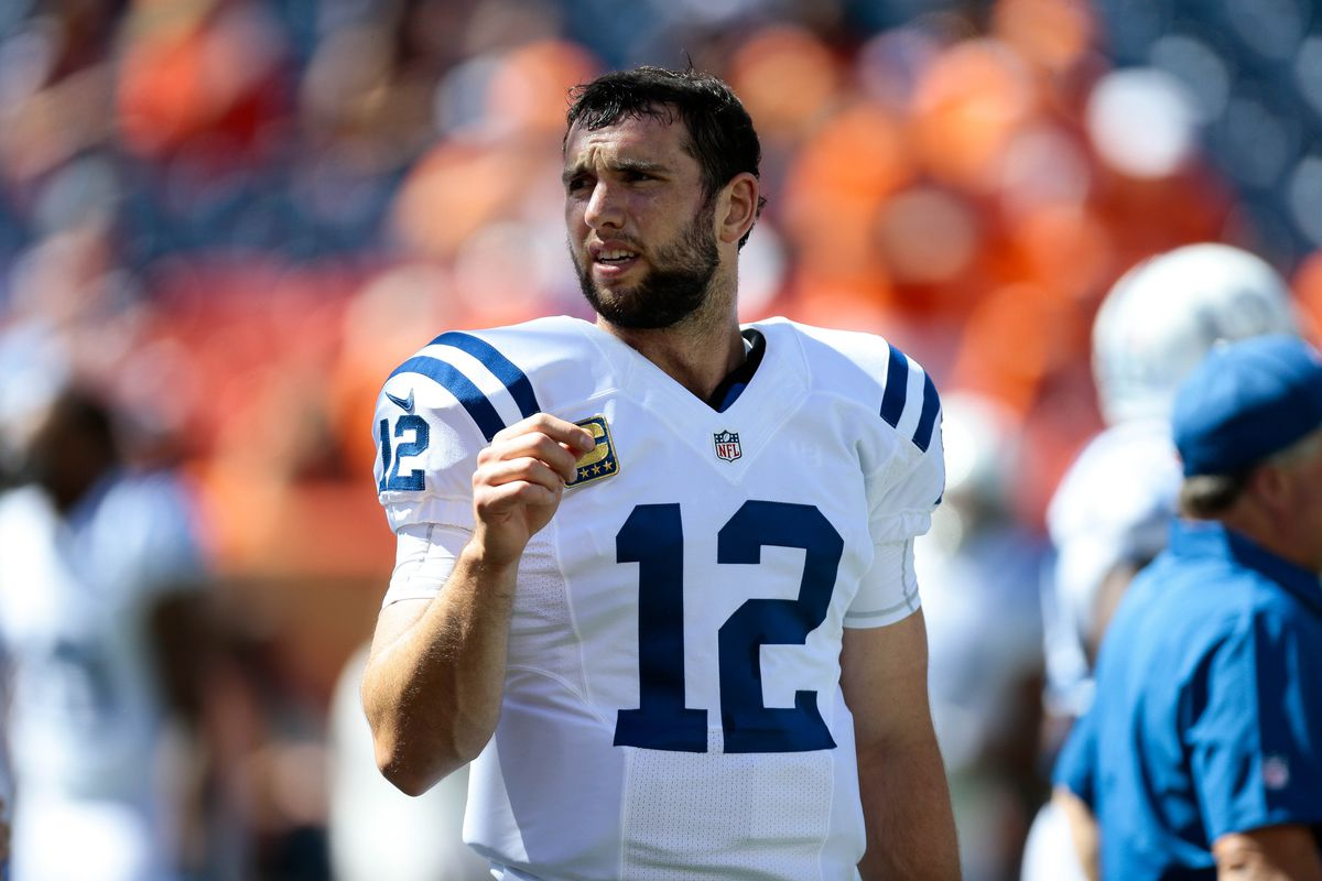 Luck offers no timetable for return from shoulder surgery