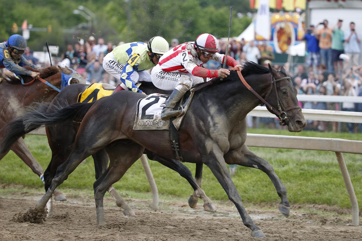 Watch as Cloud Computing stuns the 2017 Preakness Stakes