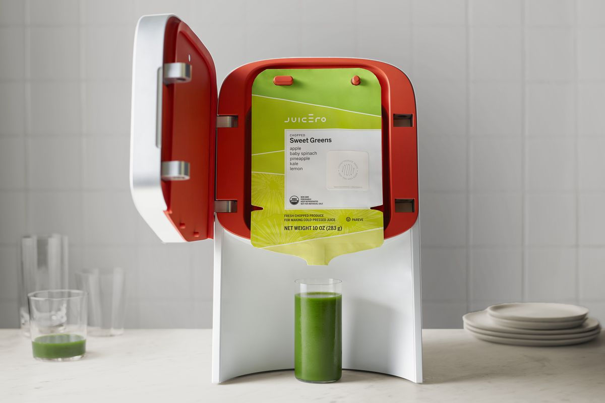The $400 Juicero Juicer Is The Funniest Silicon Valley Fail In Forever