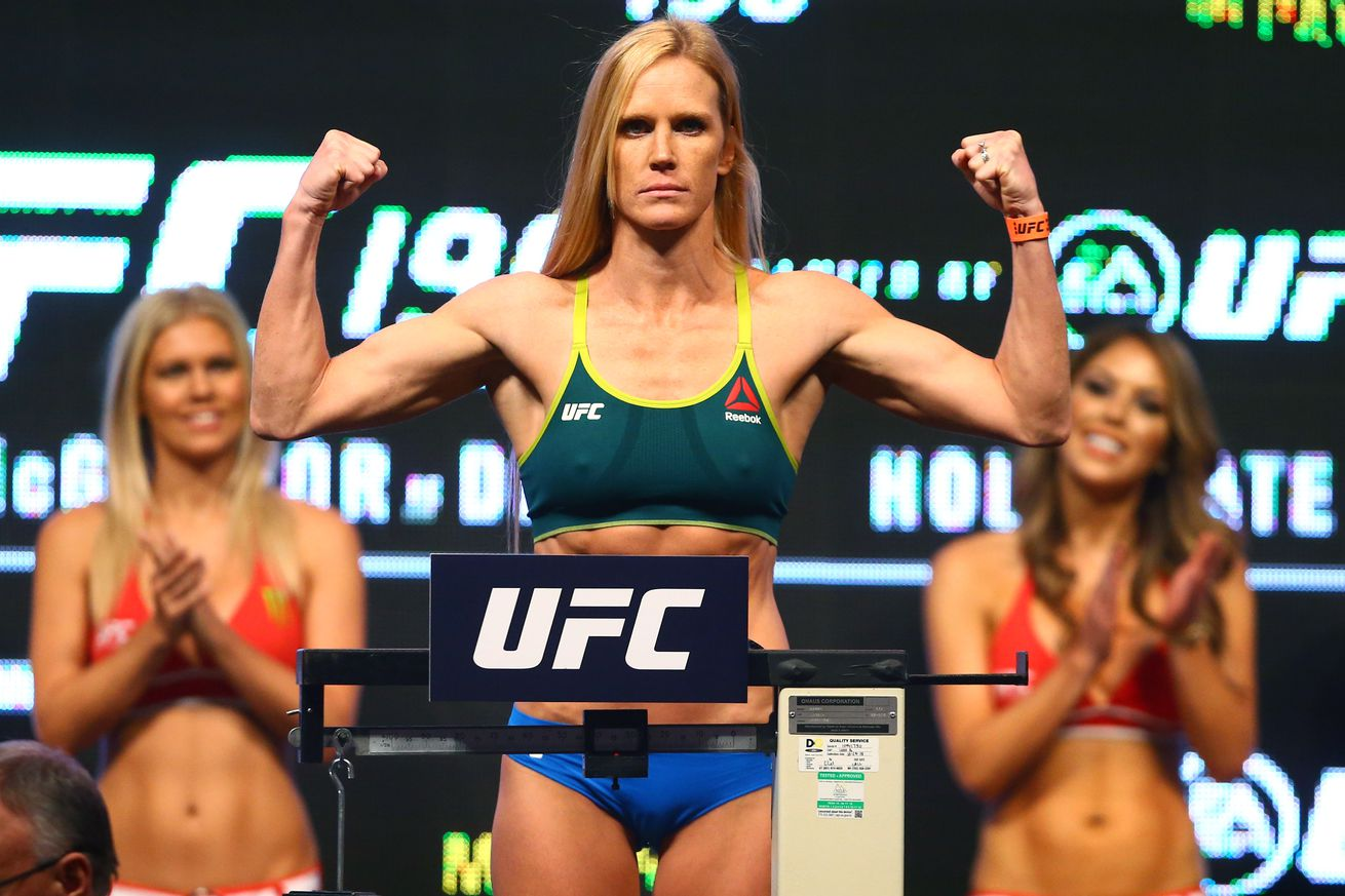 community news, UFC Quick Quote: Holly Holm asks boxing media Where were you my whole boxing career?