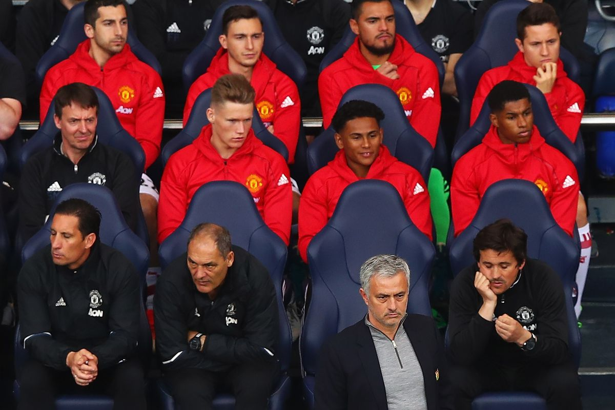 Mourinho stages the briefest press conference of all