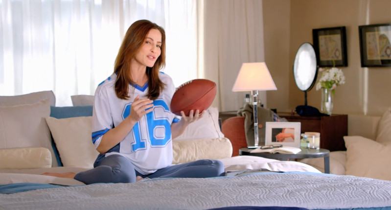 Viagra commercial football jersey actresses pairs and spares
