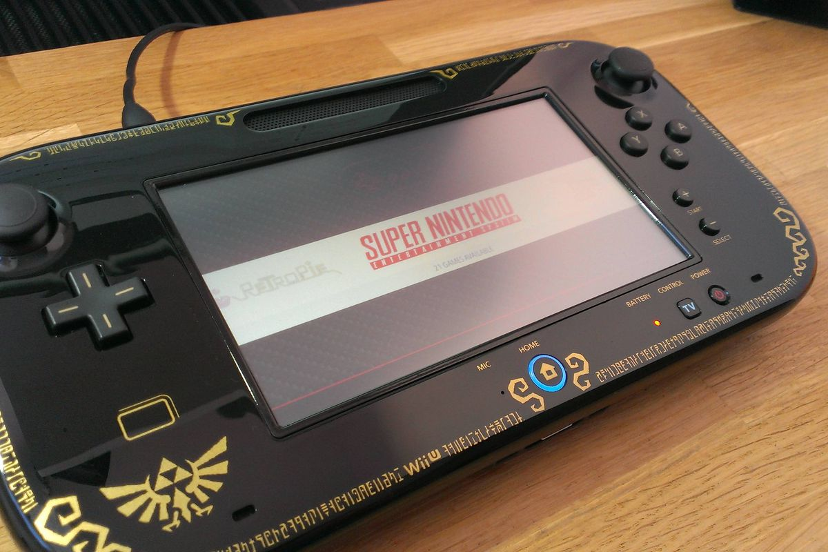 This Wii U Gamepad Console Hack Is The Next Best Thing To