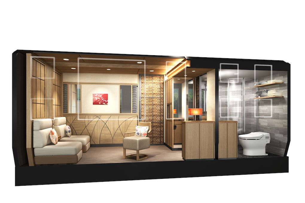 Japan S New Cruise Train Is A Luxury Hotel On Rails The