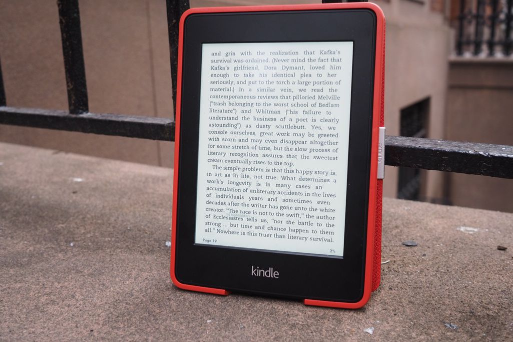 how to use kindle paperwhite e reader