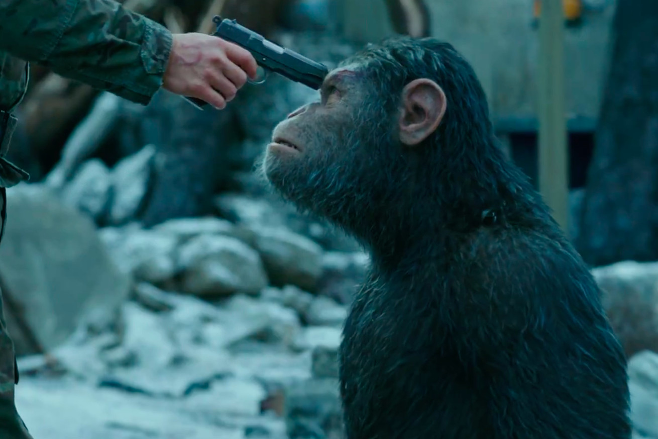 Get your fill of gun-toting primates with War for the Planet of the Apes' final trailer