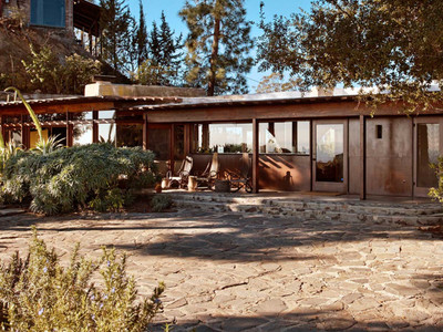 Lloyd Wright home with killer Hollywood views asks $2.5M