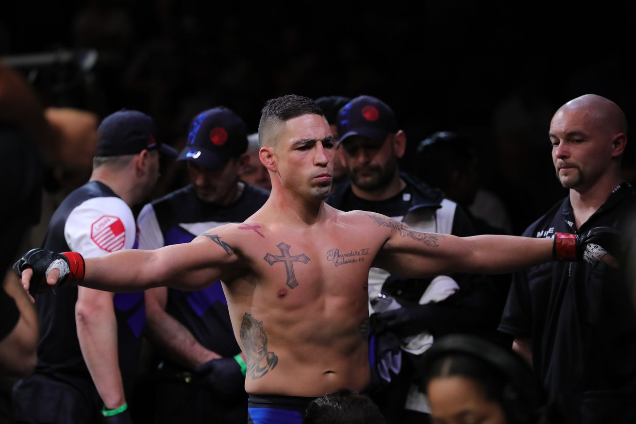 'Lionheart' Diego Sanchez vows to return after KO loss to Al Iaquinta