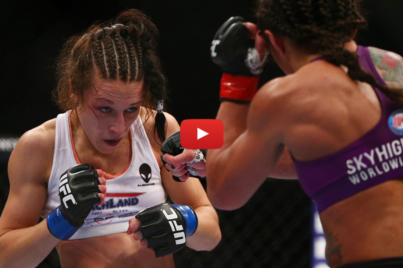 Joanna Jedrzejczyk vs Claudia Gadelha full fight video preview for TUF 23 Finale main event