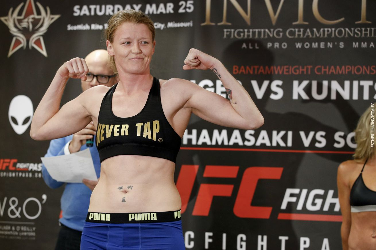 community news, Tonya Evinger thinks the UFC is 'missing the boat' by not signing her