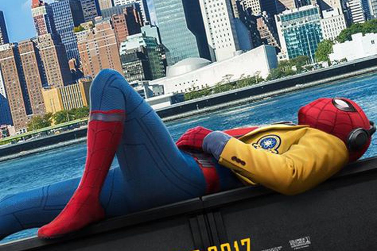 Peter Parker Chills Out in 'Spider-Man: Homecoming' Posters