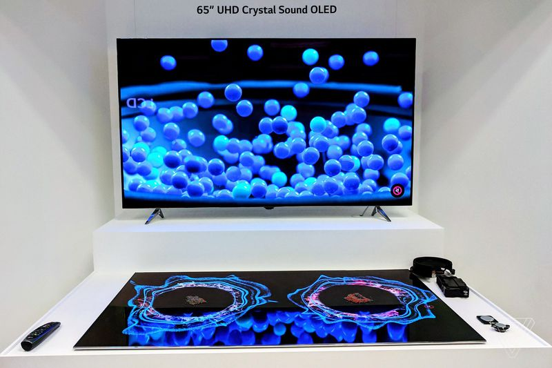 LG Display Crystal Sound OLED TV