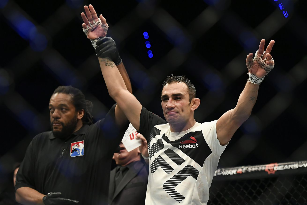 community news, 'Beefy' Tony Ferguson puts not big Tyron Woodley on notice: 'I own 170 and 155'