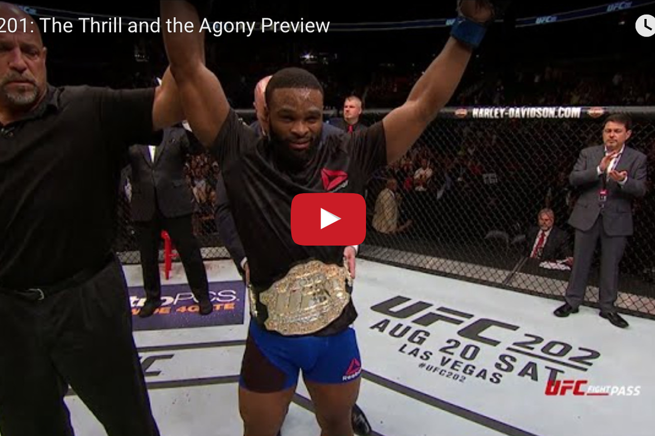 community news, UFC 201 Thrill & Agony video: Watch Tyron Woodleys family go bonkers after Chosen win