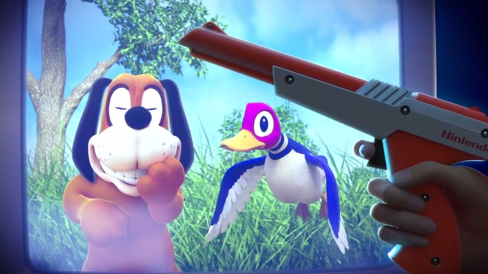 The original duck hunt is coming to wii u virtual console polygon - Console wii u super smash bros ...