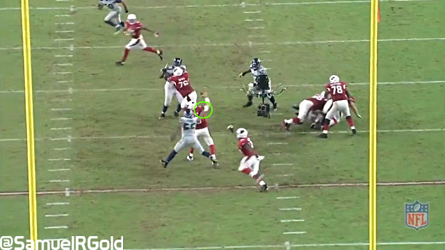 Cliff Avril Sack EZ3 Cardinals Seahawks
