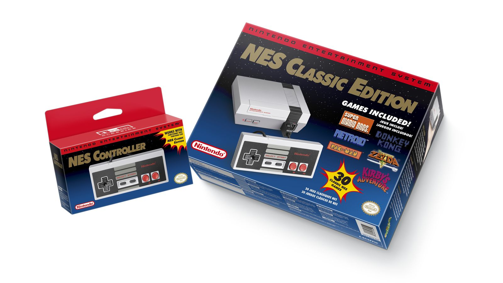 Nintendo's new NES Classic is an excellent deal
