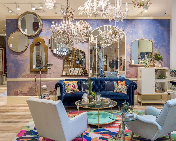Anthropologie 39 s upgraded newport beach store offers major for Store for home decor