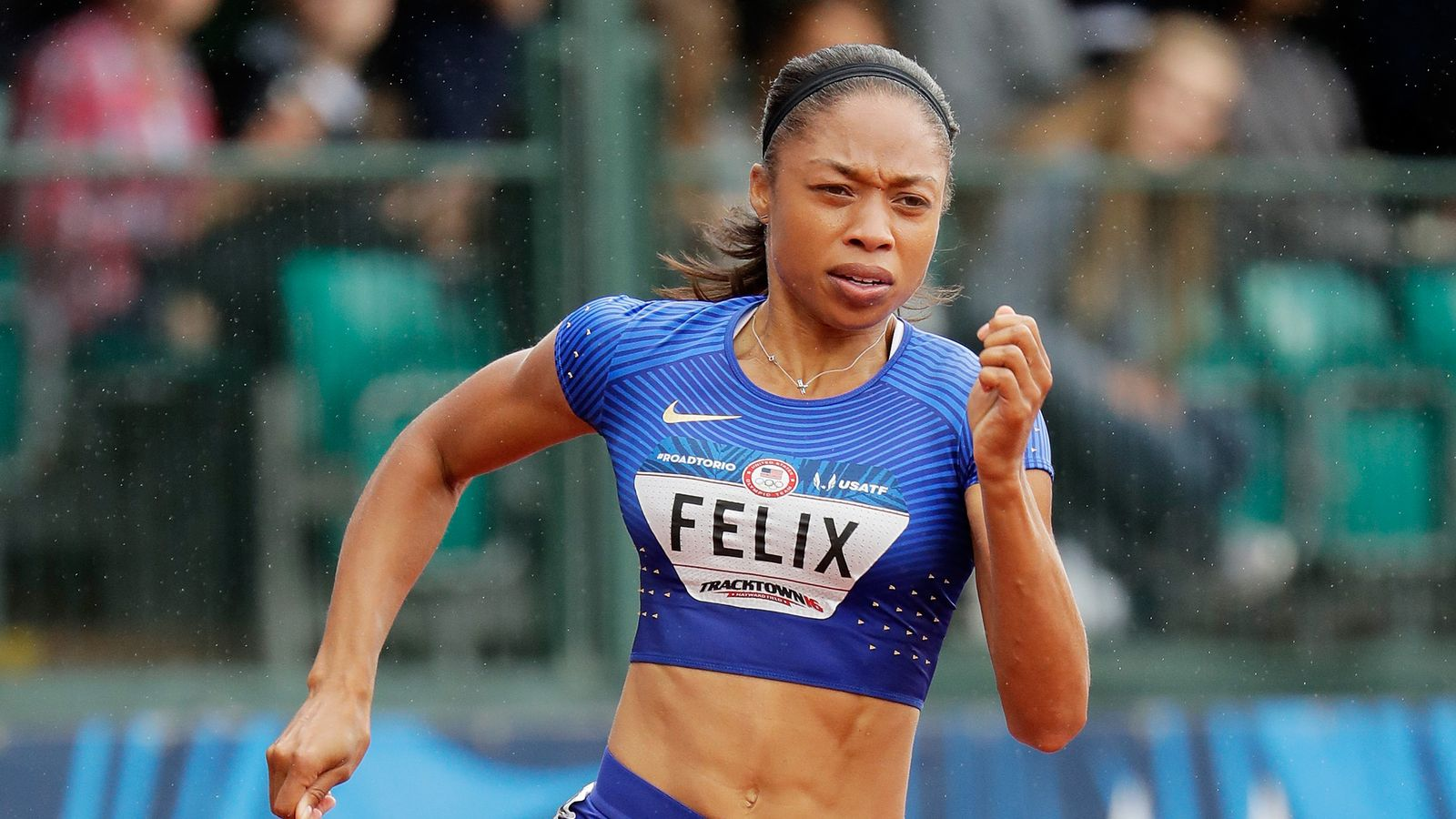 Us Track Amp Field Olympic Trial Results Allyson Felix