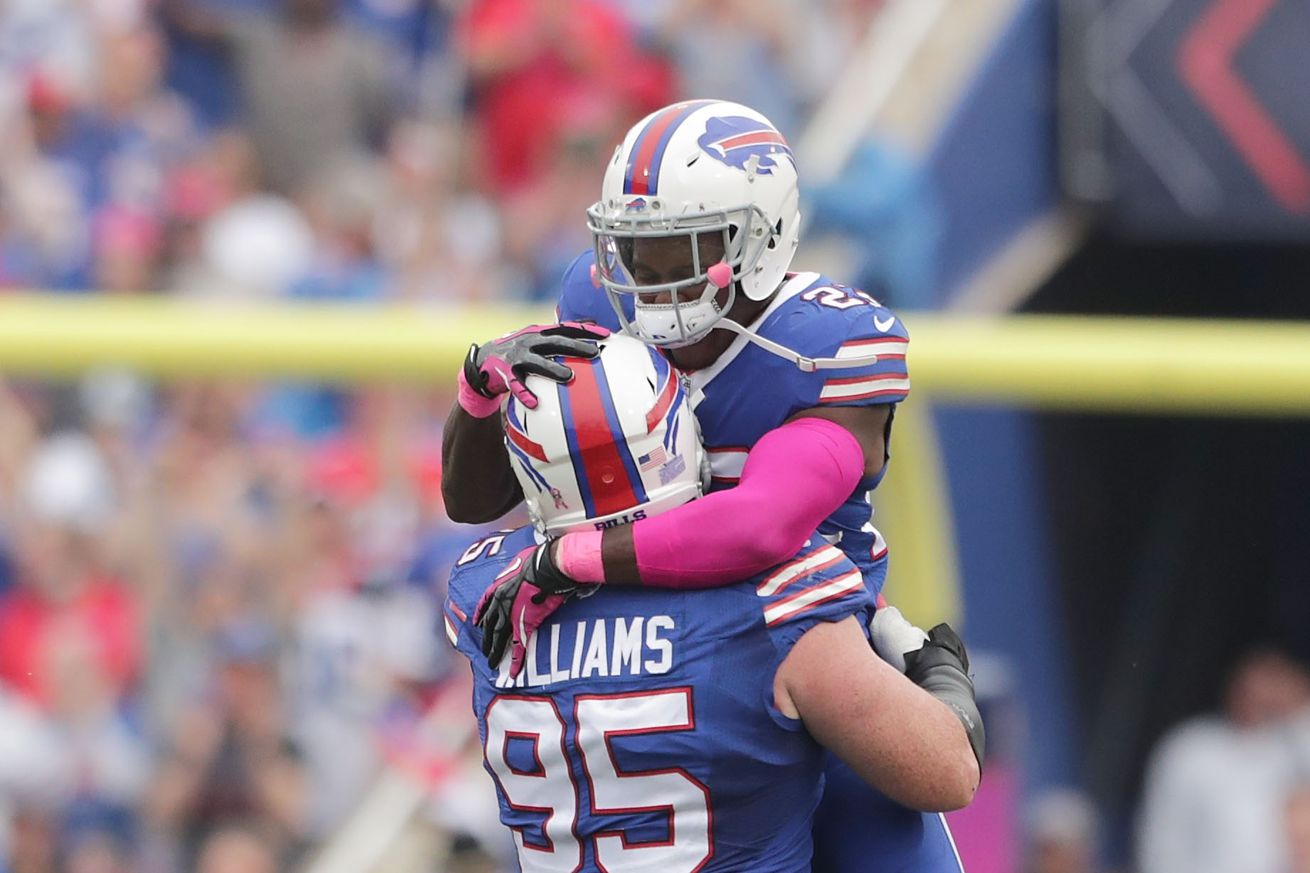 The Buffalo Bills lead the league in point differential