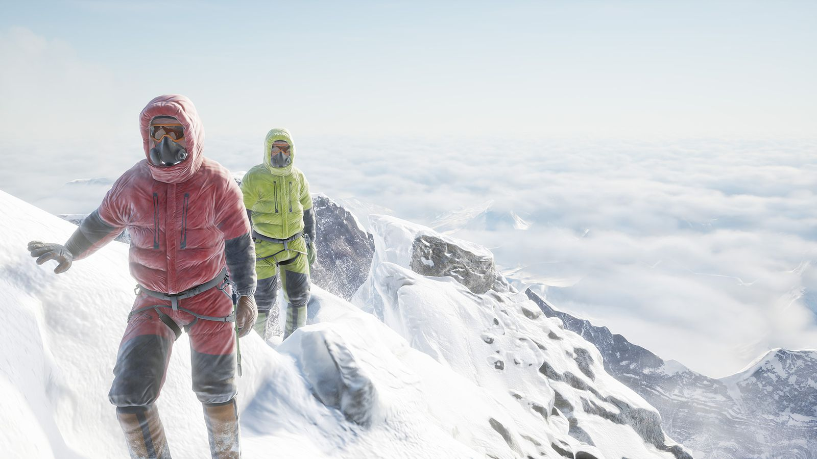 Everest Vr Is Not Like Climbing A Mountain And It Shouldn