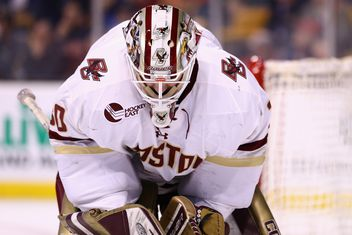 Hockey East: Demko's Eagles Hold Off UNH, 4-3