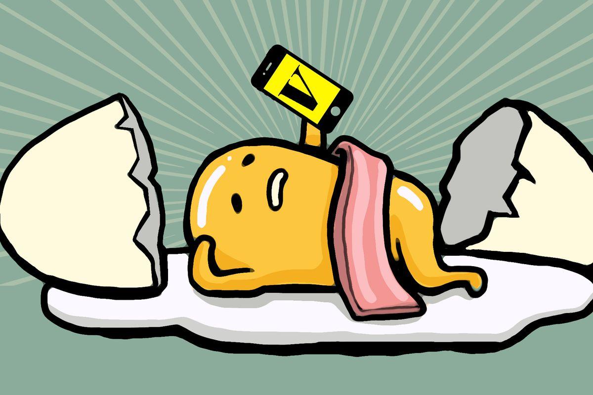 How Gudetama A Lazy Egg Yolk With A Butt Became An
