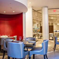 Semi Private Dining Rooms Are Interspersed Throughout The Main Dining