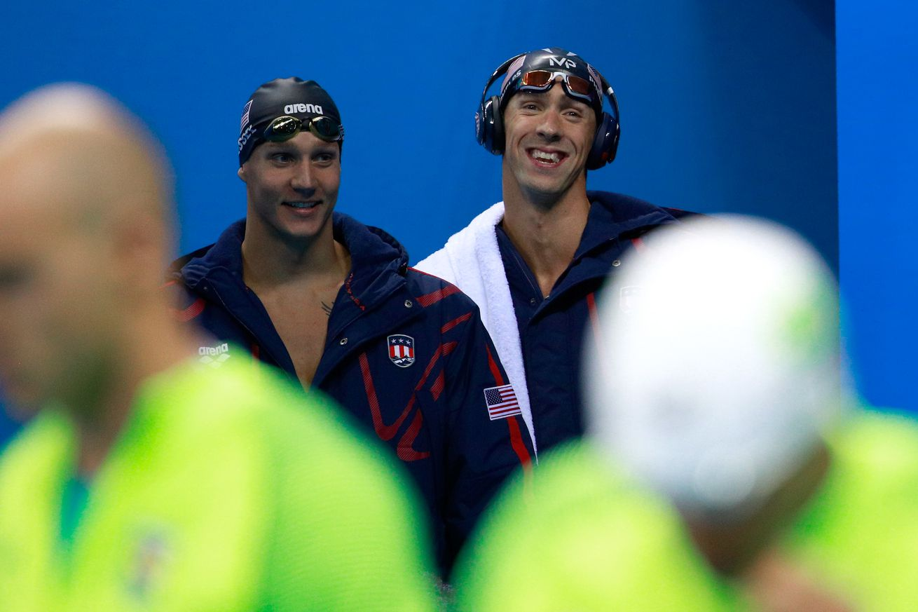 Phelps gets 19th gold, Ledecky sets world record