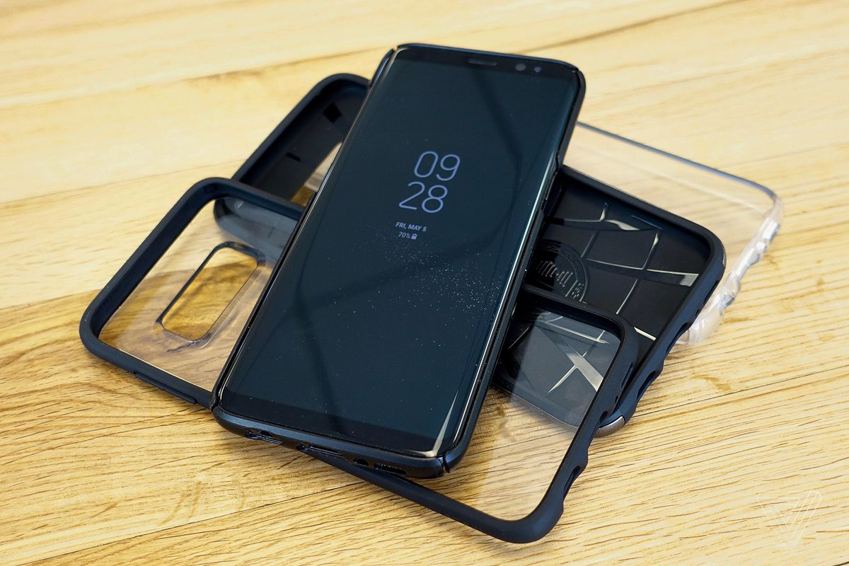 the galaxy s8 s beautiful design means a good case is hard to find