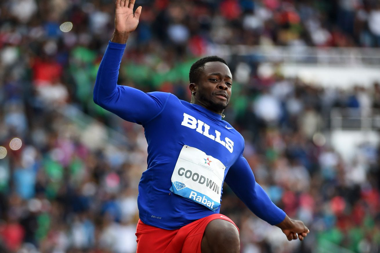 Buffalo Bills' Marquise Goodwin an Olympic gold medal favorite in ...