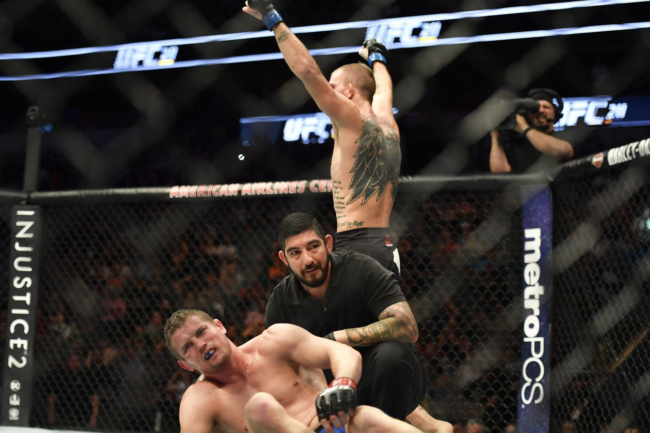 community news, UFC 211 medical suspensions: Chas Skelly, Gabriel Benitez facing possible six month sits