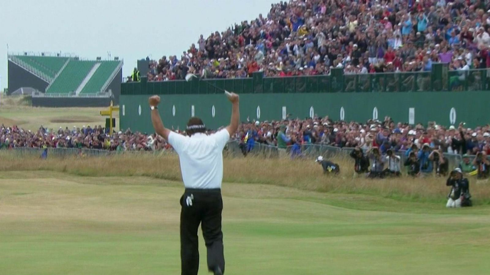 2013 british open leaderboard  phil mickelson takes