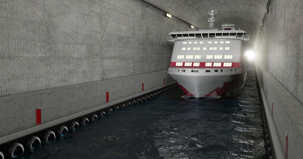 Norway wants to build the world's first full-scale ship tunnel