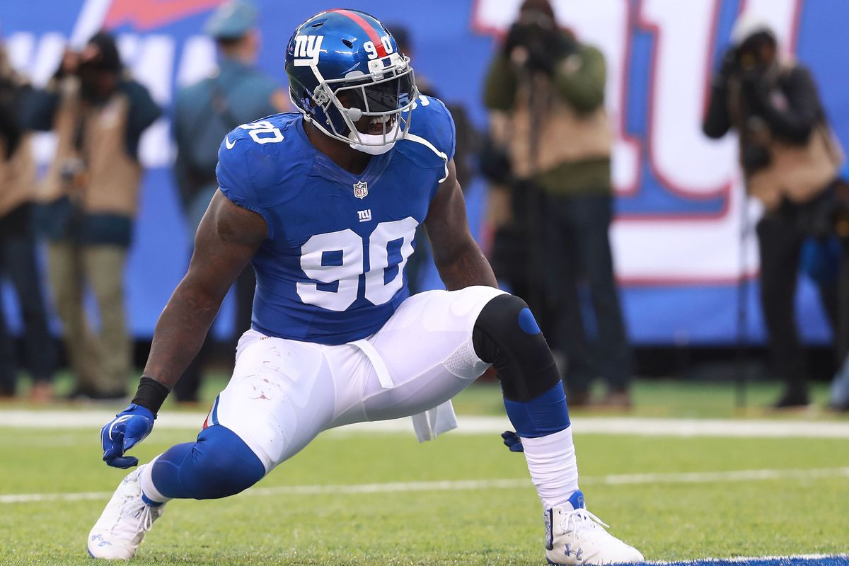 Giants put franchise tag on JPP while 'nowhere' close on deal
