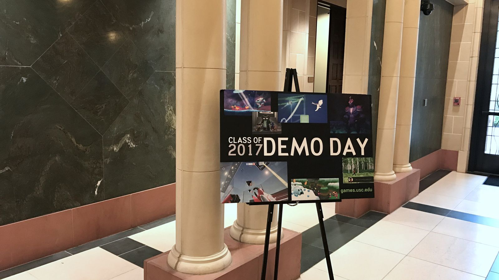 Playing the next wave of student games at Demo Day 2017, USC's mini E3
