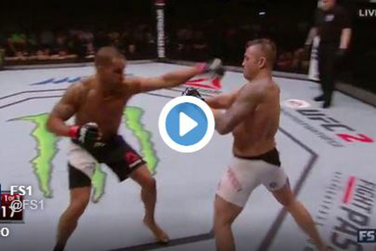 community news, UFC Brisbane highlights: Steve Bosse knocks out James Te Huna with blistering right hand