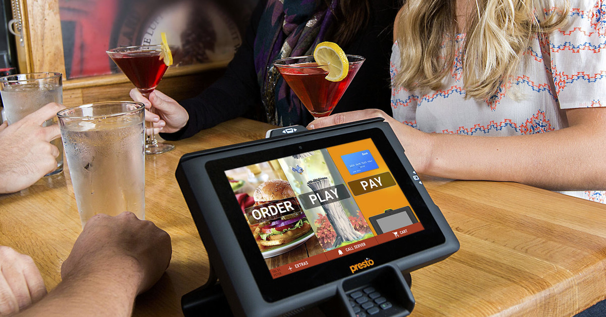 Why Tablets On Restaurant Tables Are Here To Stay Eater