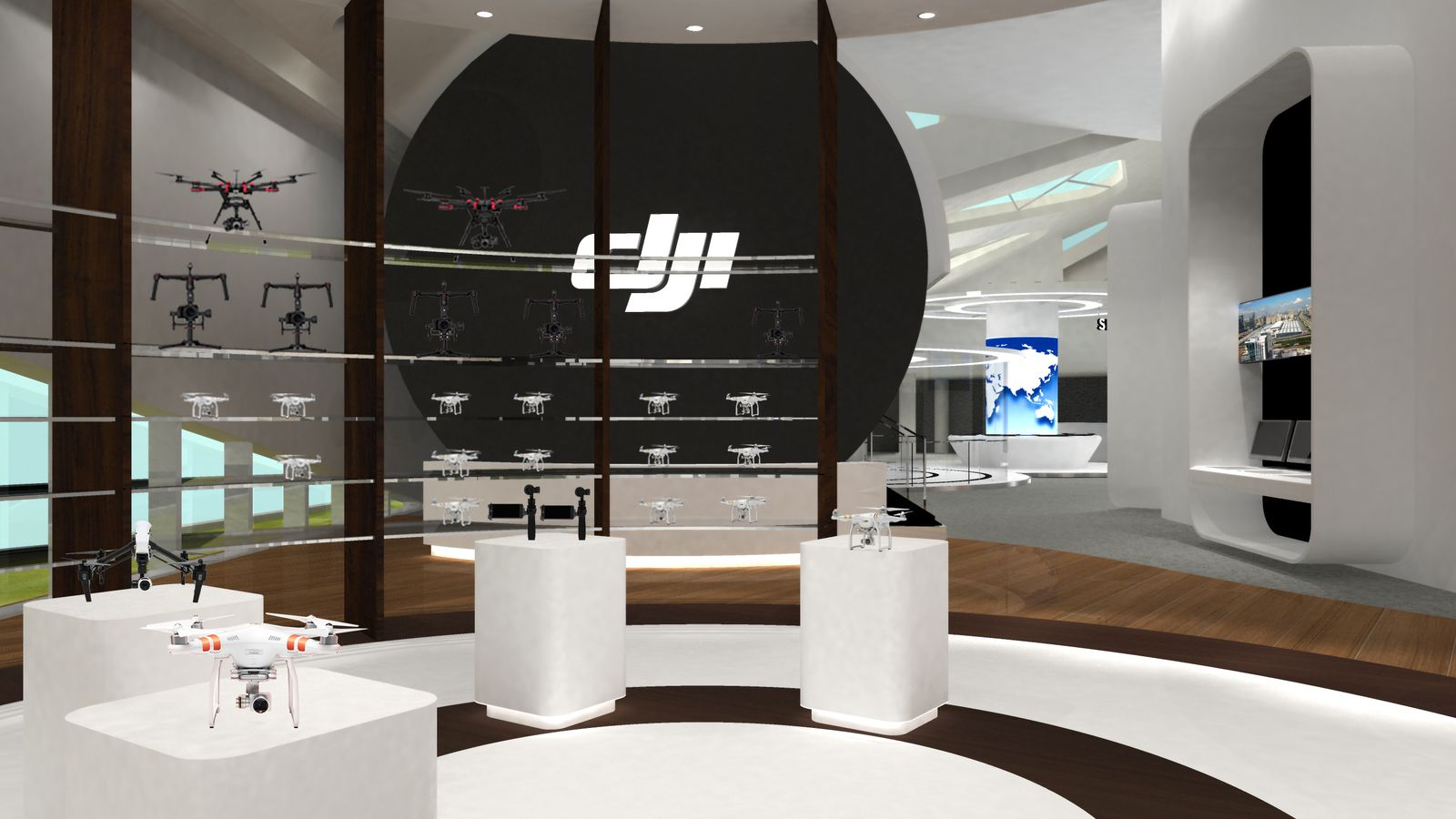 Best Dji Drone >> DJI's flagship store doesn't look like a great place to fly drones   The Verge